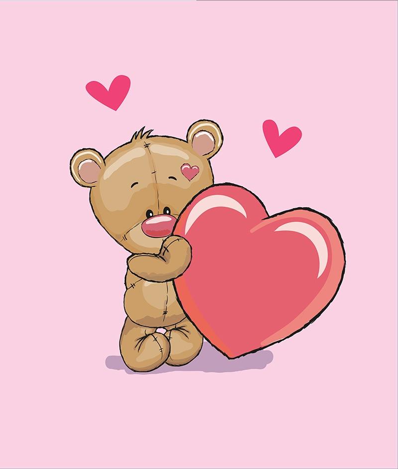 cotone-premium-pannello-xl-85x100-baby-bear-pink