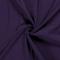 Mussola / doppia garza di cotone viola scuro
