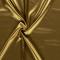 Tessuto di raso elasticizzato oro