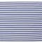 Tessuto jersey - banda bianco-blu metallico