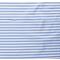 Tessuto jersey - banda bianco-blu chiaro