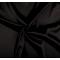 Tessuto di raso elasticizzato nero