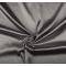 Tessuto di raso elasticizzato grigio