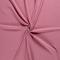 Mussola / doppia garza di cottone - rosa antico con puntini di oro