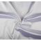 Tessuto di raso elasticizzato bianco