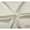 Tessuto di raso elasticizzato ecru