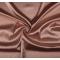 Tessuto di raso elasticizzato rosa antico
