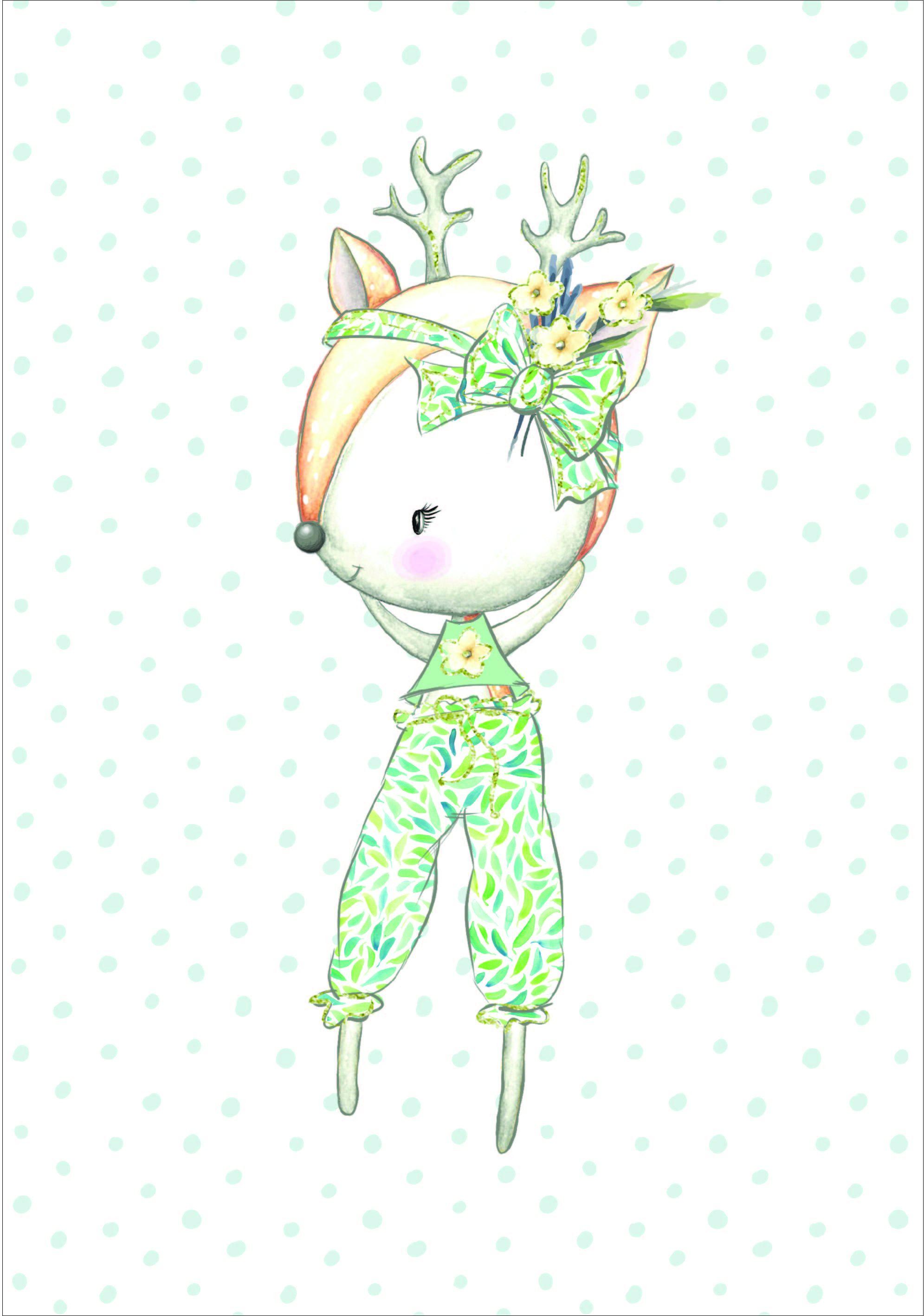 cotone-premium-pannello-xl-bunny---daino