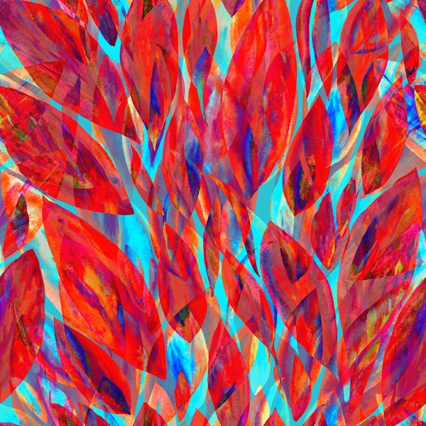 tessuto-di-cotone-premium-foglie-rosse