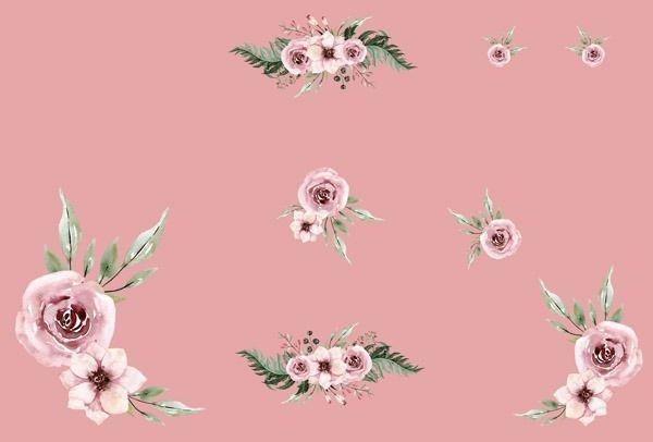 pannello-per-sacco-termico-in--poliestere-impermeabile-155x105-disegno-in-giardino-rosa-antico