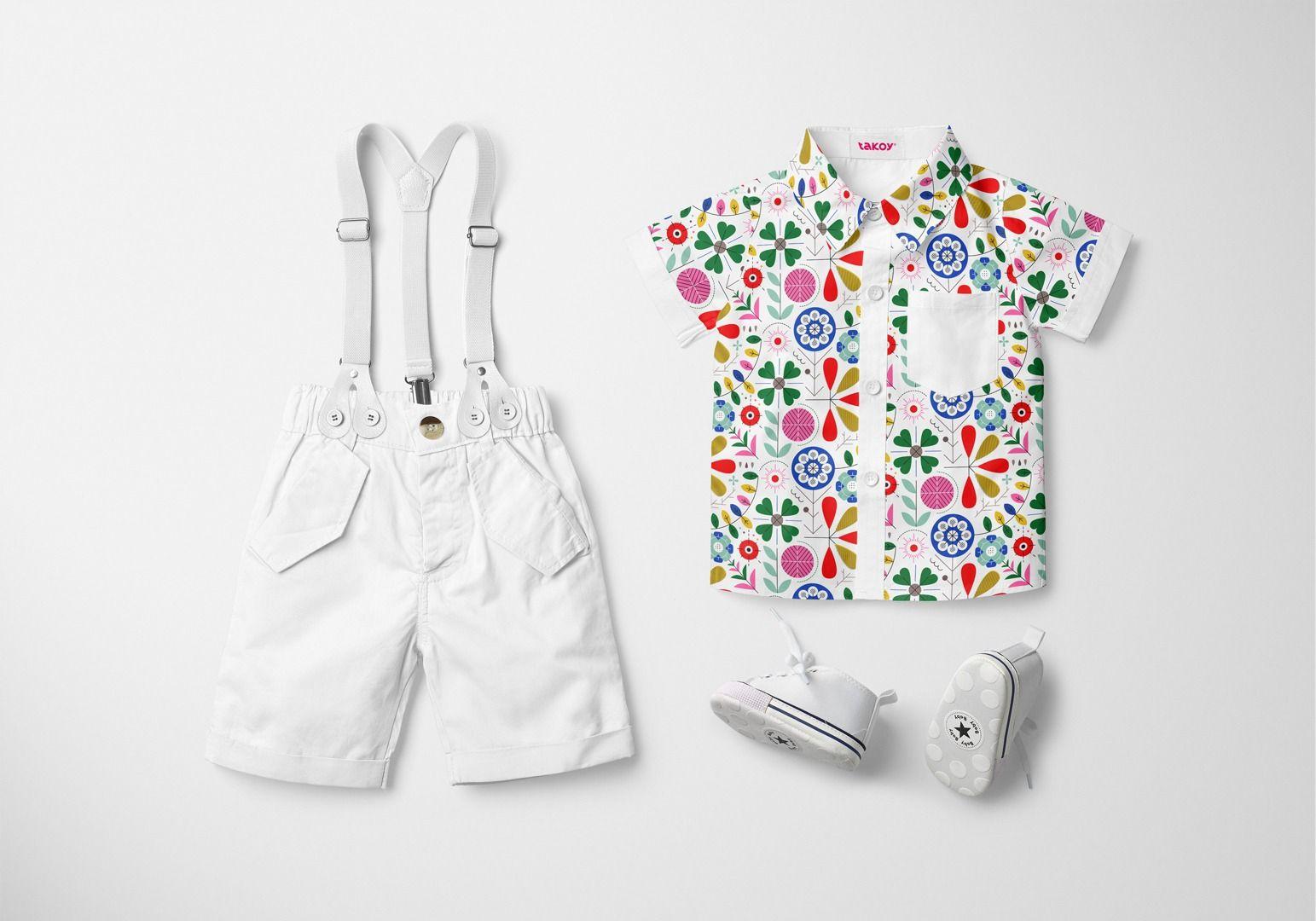 tessuto-di-cotone-premium-motivo-geometrico-folk-bianco