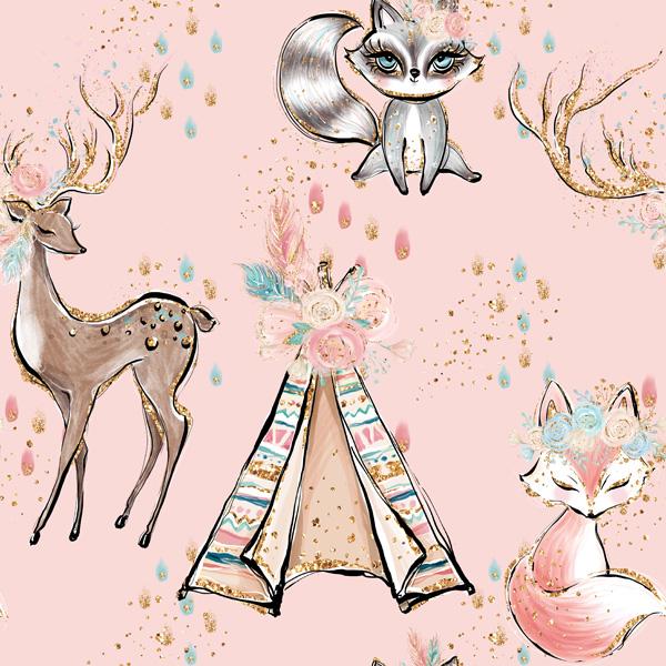 tessuto-di-cotone-premium-indiana-girl-pink