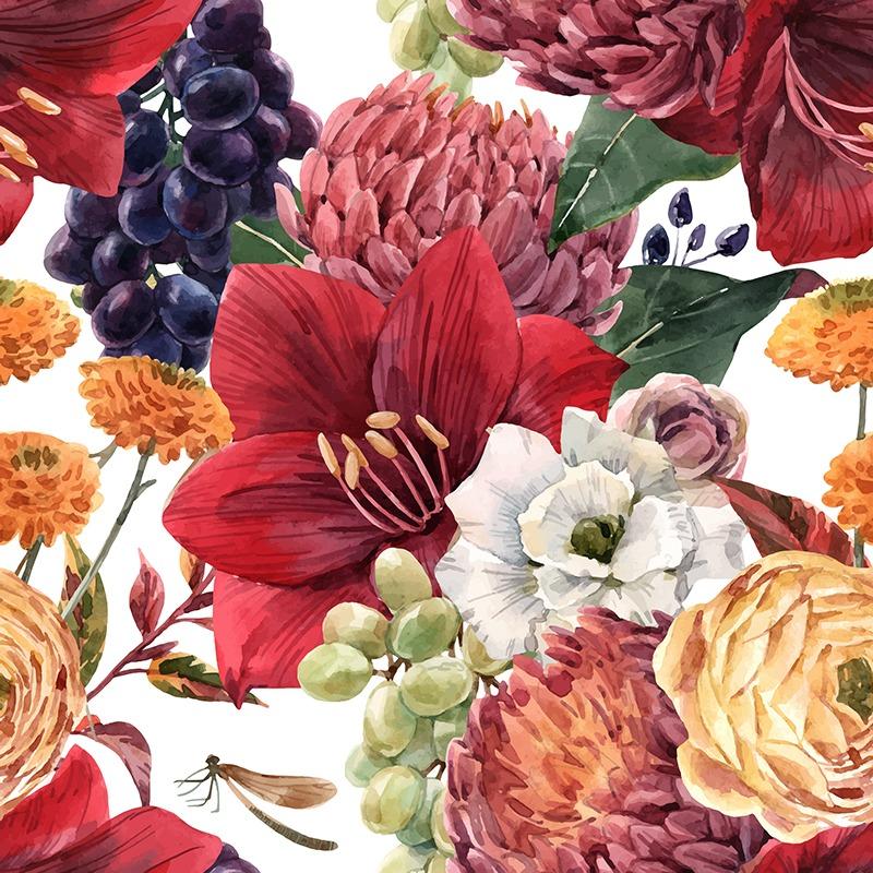 lino-fiori-autunnali-e-uva