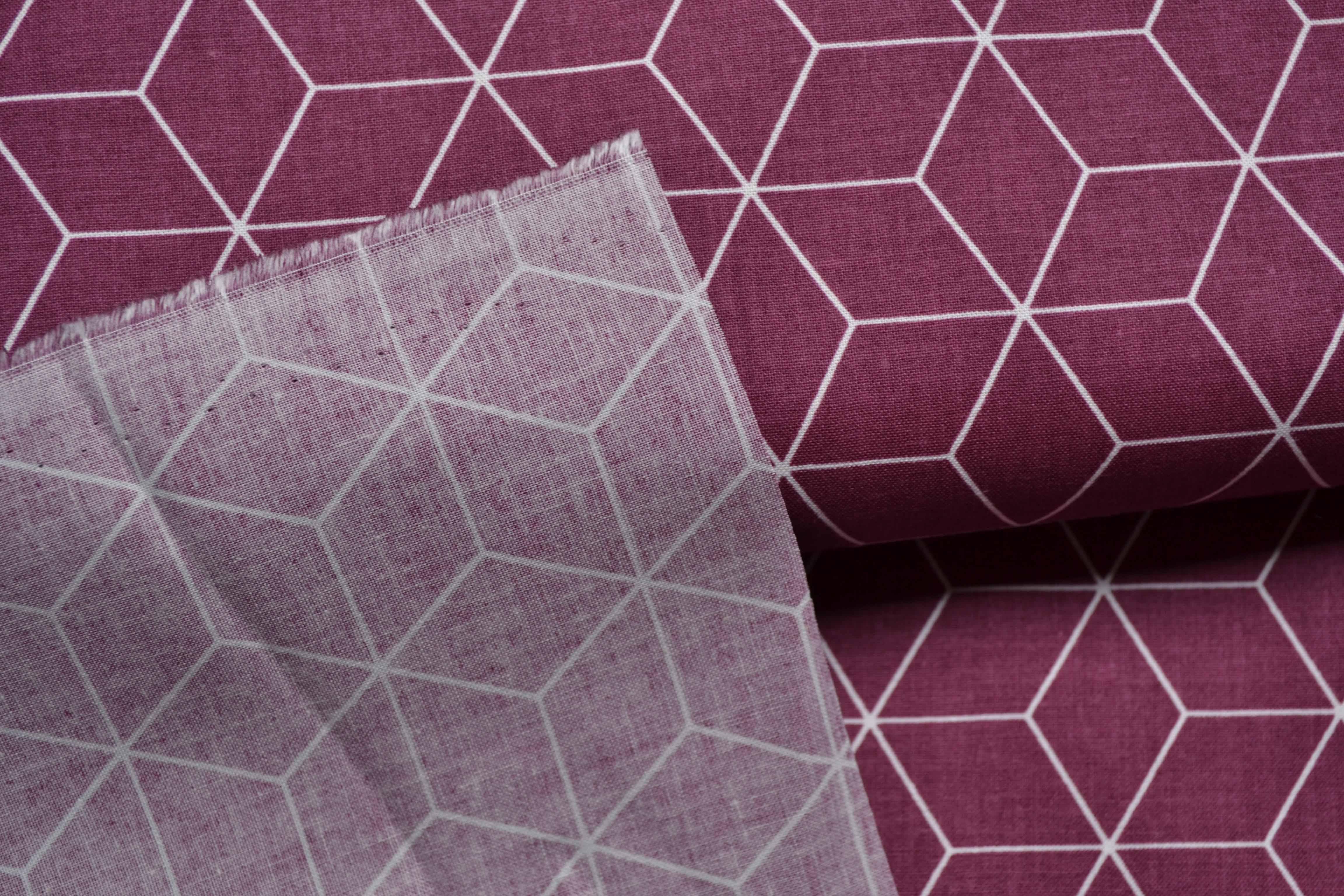 tessuto-di-cotone-rombo-chiaretto