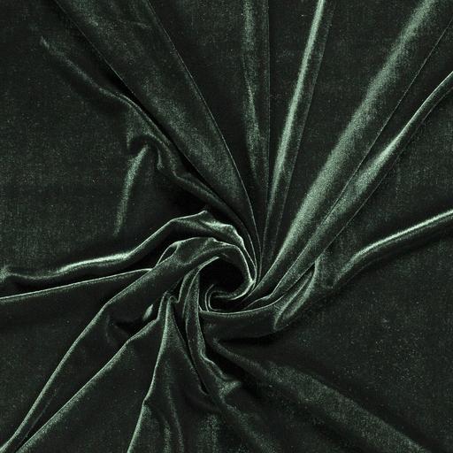 tessuto-velluto-elastico-premium-verde-scuro