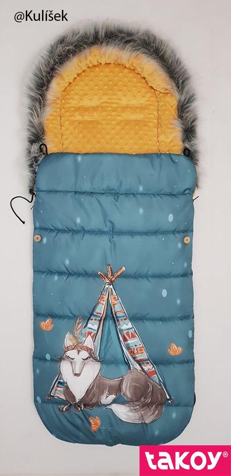 pannello-per-sacco-termico-in--poliestere-impermeabile-155x105-disegno--indiana-boy-turchese---lupo