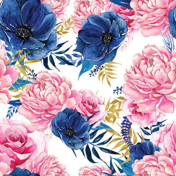 tessuto-di-cotone-premium-fiori-rosa-blu