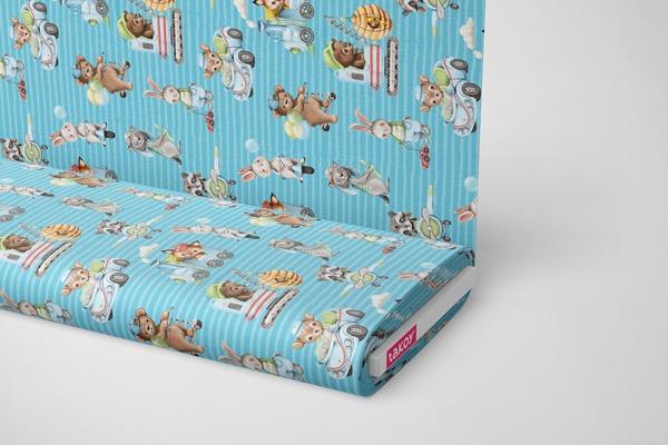 tessuto-di-cotone-premium-animali-dolci