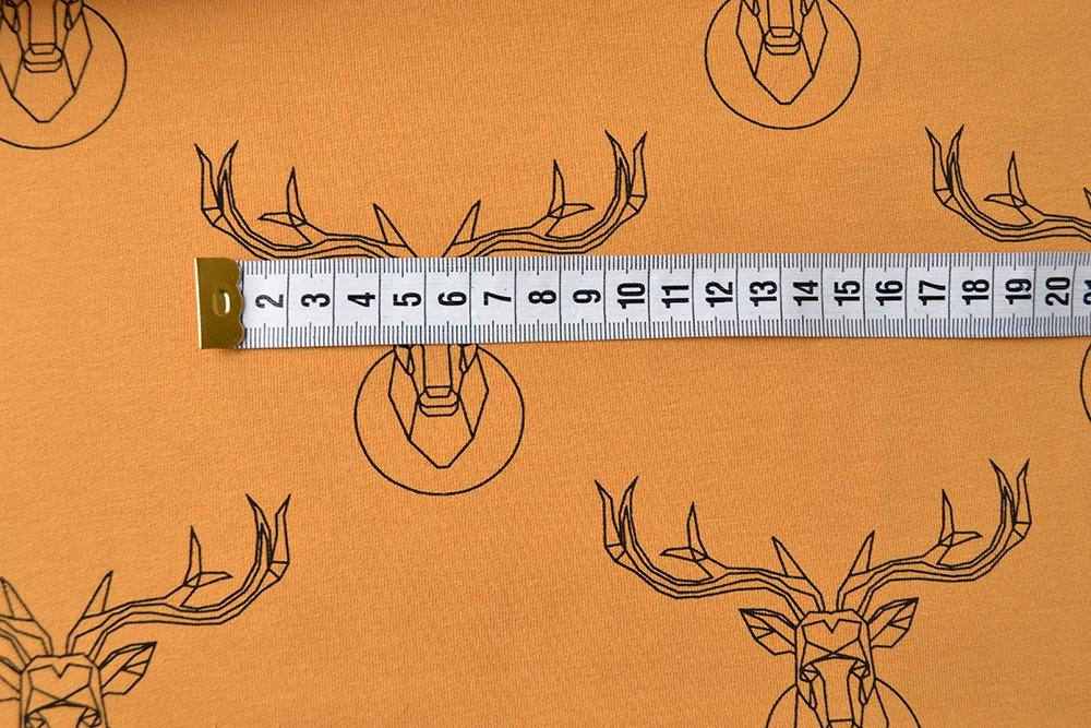tessuto-felpa---deer-senape-by-takoy®