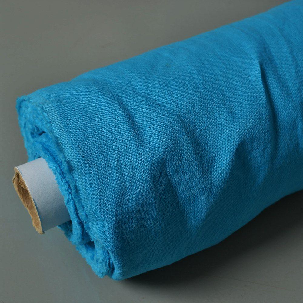 tessuto-a-metraggio-lino-turchese-170g