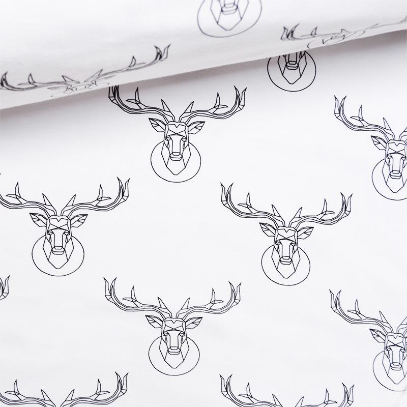 tessuto-jersey---deer-bianco-by-takoy®