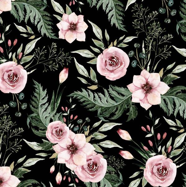 tessuto-di-cotone-premium-in-giardino-nero