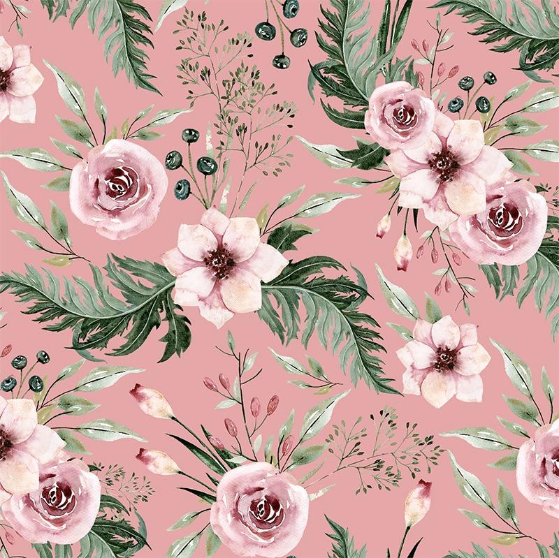 tessuto-per-costumi-da-bagno,-abbigliamento-fitness-in-giardino-rosa-antico