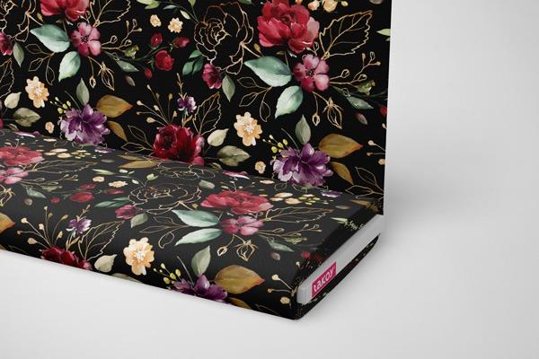 tessuto-di-cotone-premium-fiori-neri-dorati